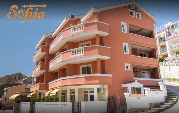 apartments sofija budva becici