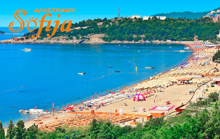 plaža bečići crna gora