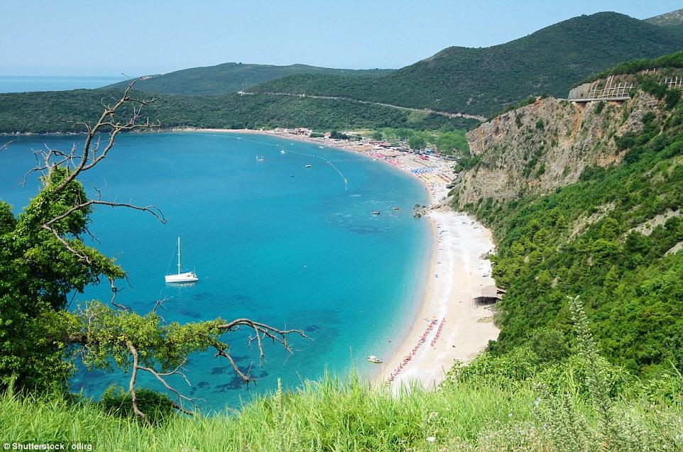 plaže crne gore