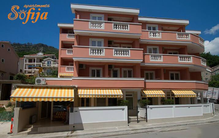 apartmani sofija budva montenegro